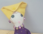 Purple Sassy Lady