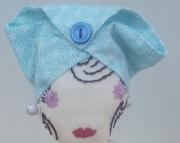 Blue Flora Sassy Lady