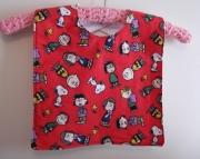 Bib for Baby or Toddler - Peanuts Charlie Brown bunch
