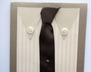Shirt and Tie - Birthday card