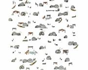 Igloo Village Print
