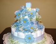 Baby Diaper Cake - Blue