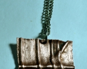 Copper pendant necklace 5
