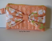 Bow Front Clutch/Wristlet