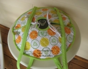 Round Insulated Casserole Tote
