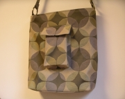 Mid Century Modern Tote Bag -  Carryall - Messenger Bag