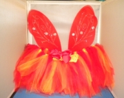 Fire Fairy Costume