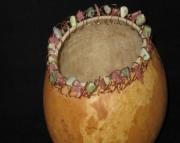 Crochet Rim Bowl Gourd