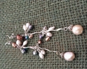 Pearl Shoulder Length Dangles
