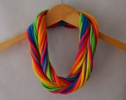 T shirt scarf in Bright Rainbow