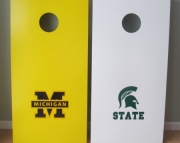 Bean Bag Toss Game - Michigan and Michigan State