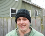 Men's Crocheted Hat
