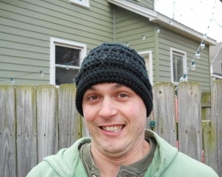 Men's Crocheted Hat