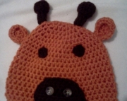 Children's Giraffe Hat