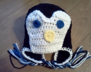 Childrens Penguin Hat