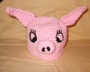 Childrens Piggy Hat