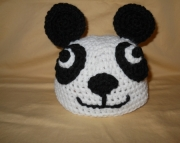 Childrens Panda Hat
