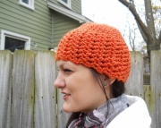 Crocheted Women's Jazzy Cloche Hat