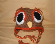 Children's Owl Hat