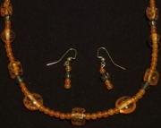 Fall Necklace/earrings
