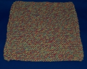 Red/Yellow/Blue Dish Cloth