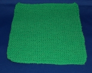 Green Dish Cloth