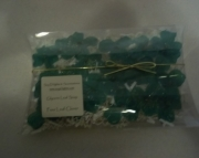 Shamrock glycerin soap leaves