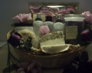Pamper yourself gift basket