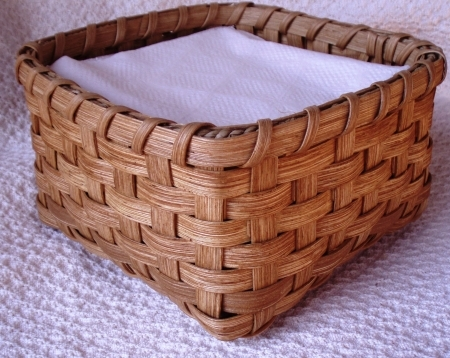 Napkin Basket Handwoven