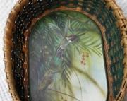 Hummingbird Basket Handwoven