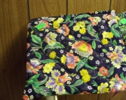 Quilted Cosmetic Bag - Multi Floral