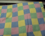 Fitted Flannel Crib Sheet - Plaid