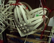 Balsa Wood Heart  Large