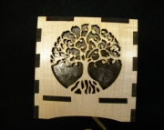 Tree of life Woooden lamp