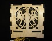 Phoenix Wooden lamp