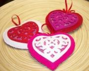 Heart Rose Petal Sachet