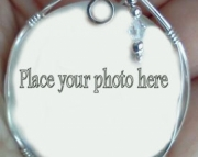 Large Cameo with your pic Oval or Round