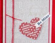 Kraft Valentine's Greetings Card