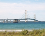 Mackinac Bridge at Day Picture Puzzle