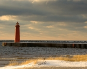 Muskegon South Breakwater Light  Picture Puzzle Number3
