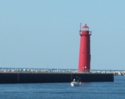Muskegon South Breakwater Light  Picture Puzzle Number2