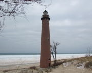 Little Sable Point Winter Picture Puzzle