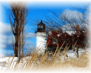Point Betsie Winter Picture Puzzle
