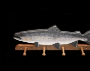 King Salmon 4 peg coat holder