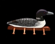 Loon 4 peg coat holder