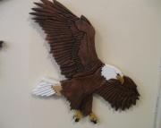Intarsia Eagle