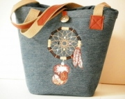 Dream Catcher Bucket Bag
