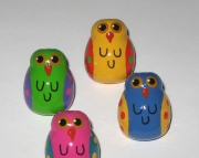 Outrageous Owl Push Pins for Memo Board