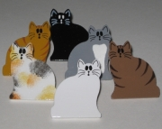 Kitty Cat Push Pins for Bulletin Board