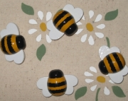 Bumble Bee Push Pins for Cork Board